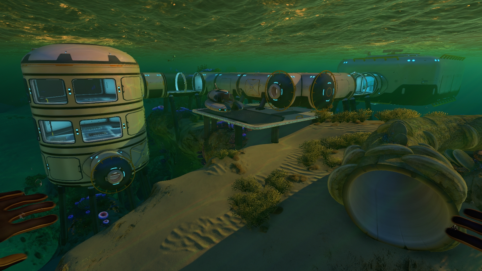 Subnautica Scanner Room On Top Of Multipurpose Room – Subnautica full important fragment guide/list.