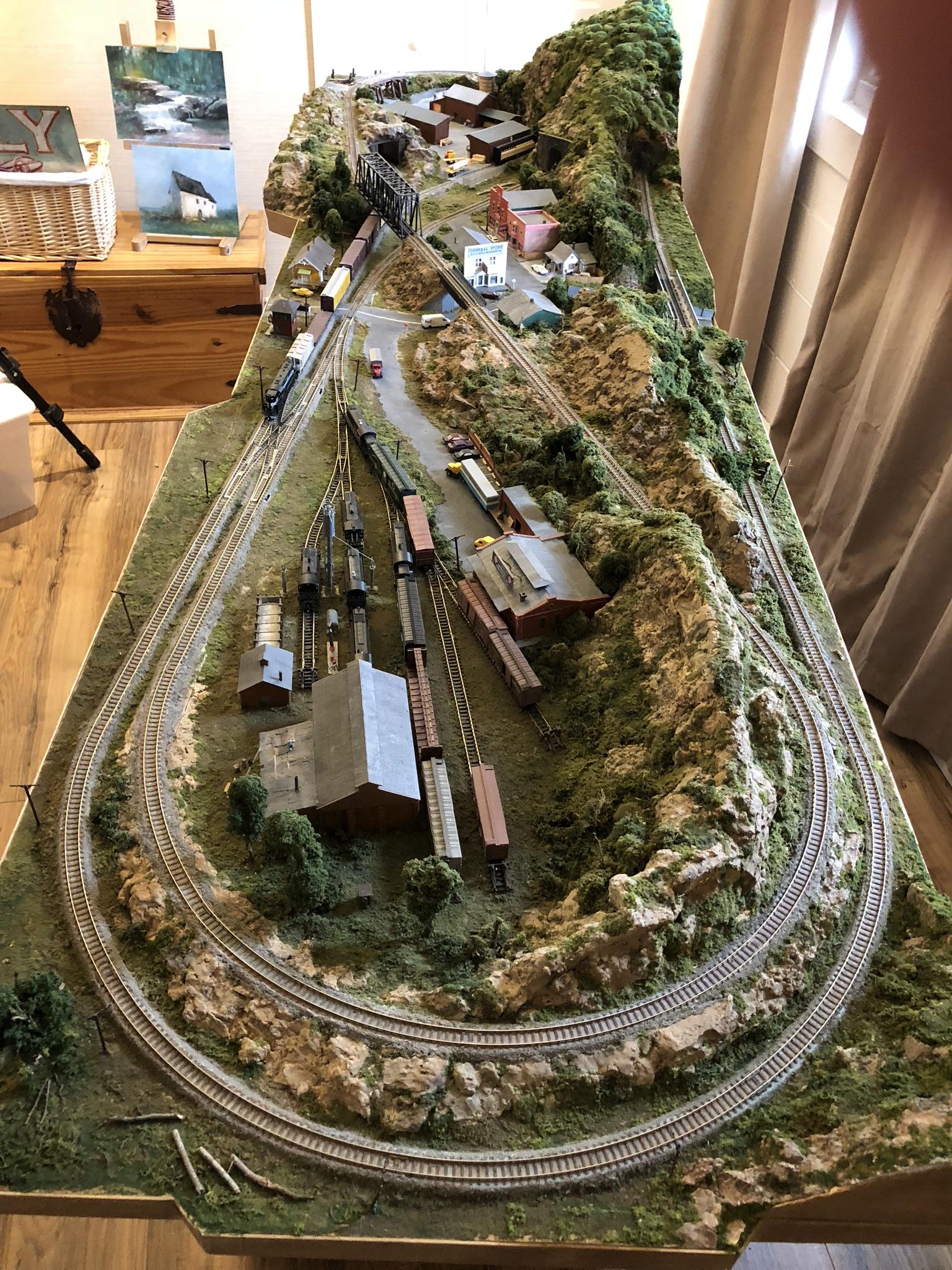 N Scale Model Railroad - SimHQ Forums